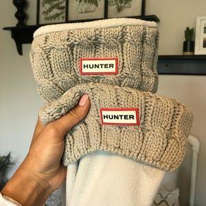Hunter Women's Original 6-Stitch Cable Boot Socks